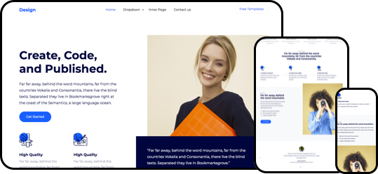 Design Free HTML5 Template