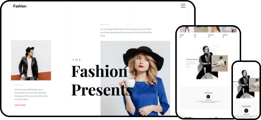 Fashion Free HTML5 Bootstrap 4 Template