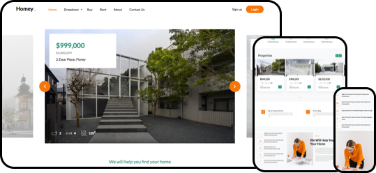Homey Free HTML5 Bootstrap Template