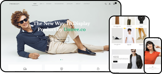 Product Free HTML CSS Template for eCommerce