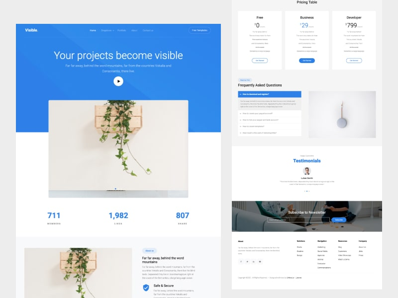 Untree.co - Visible: Free Bootstrap 4 Template