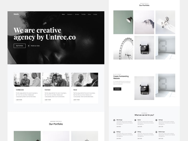 Free Download Bootstrap 5 Template - Medio