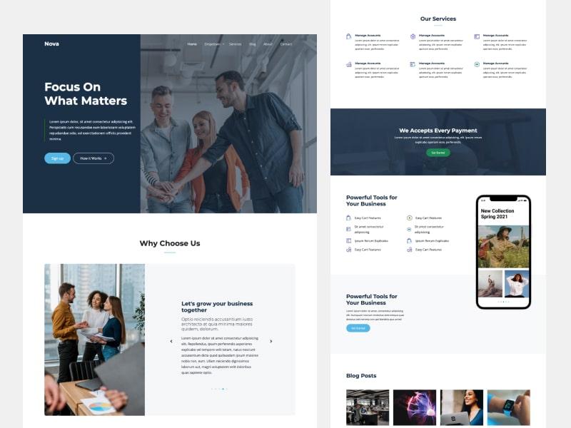 Untree.co - Nova - A Multipurpose Free Download Website Template